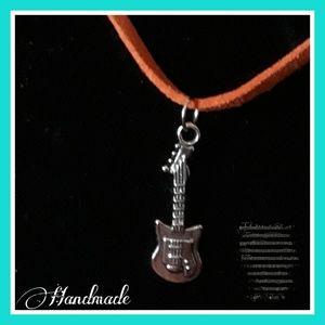 Jewelry - Guitar Charm Necklace